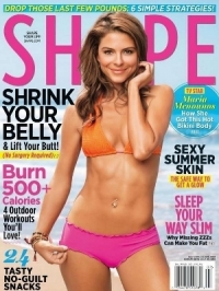 Maria Menounos Flaunts Bikini Body on the Cover of Shape July 2012