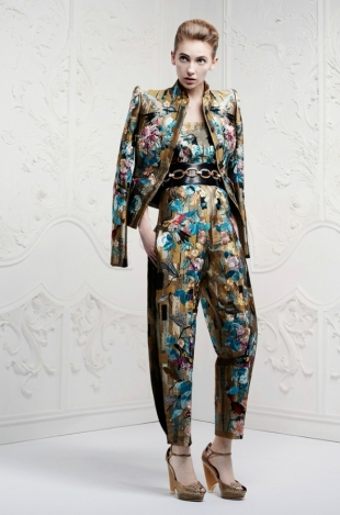 Alexander McQueen Resort 2013 Collection