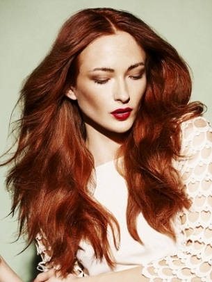 Red Hair Color 2012
