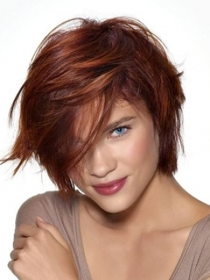 Red Hair Color Shades for 2012