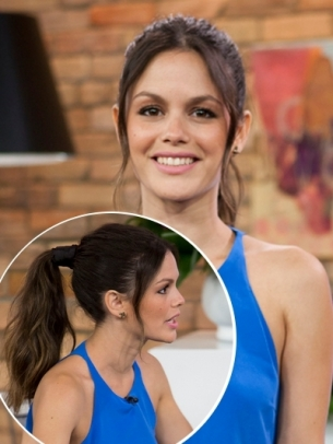 Long Hair Styling Pony Rachel Bilson