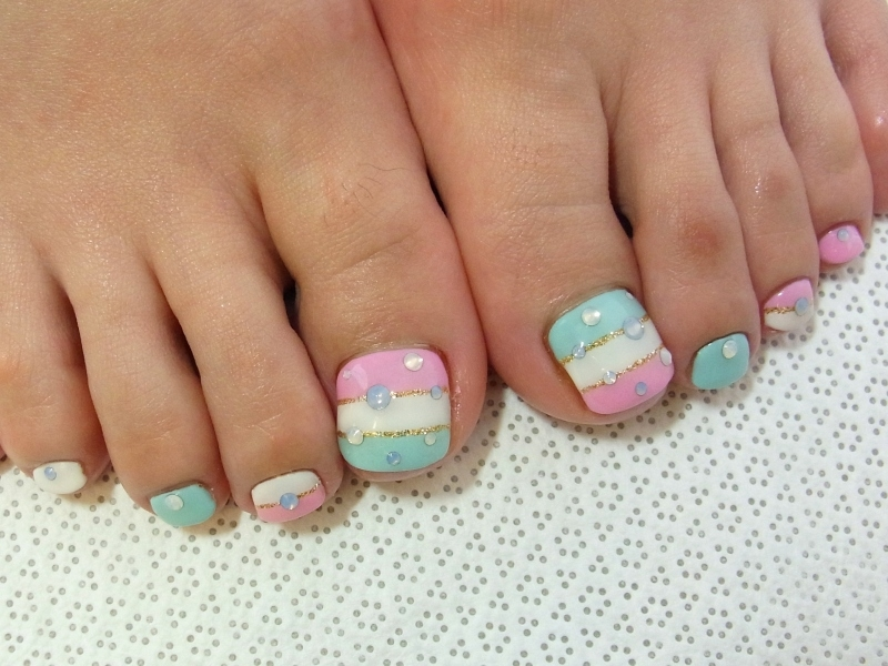 Stylish Pedicure Nail Art Designs For Summer Nail Art Design Ideas