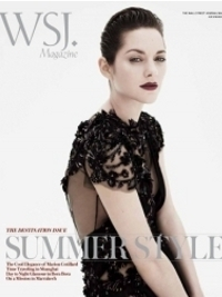 Marion Cotillard Reveals Her Sultry Side for WSJ Magazine July/August 2012