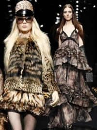 Roberto Cavalli Fall 2012 RTW Collection