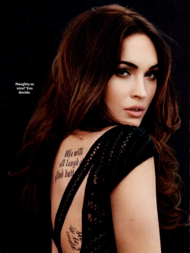 Megan Fox Covers Cosmopolitan April 2012