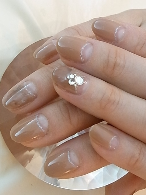 Nude Colored Nail Art Designs