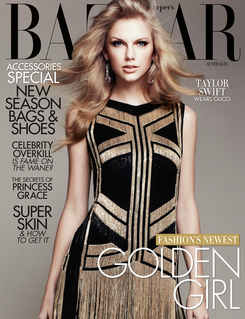 Taylor Swift For Harper's Bazaar Australia April 2012