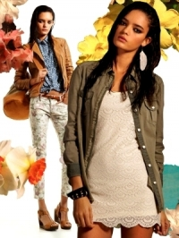 Stradivarius March 2012 Lookbook