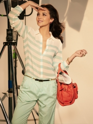 Paula Echevarría for Suite Blanco Spring/Summer 2012
