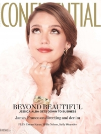 Jessica Alba Covers Los Angeles Confidential March 2012