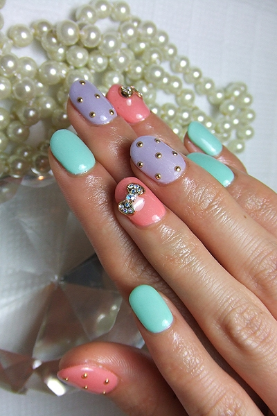 Nail Art Ideas 2012 To Add Girly Glamor To Your New Season Look