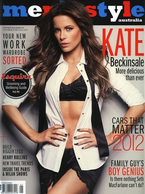 Kate Beckinsale Goes Sexy for Mens Style Australia