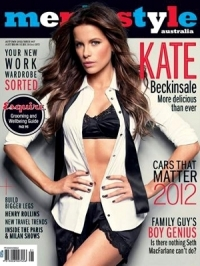 Kate Beckinsale Goes Sexy for Men's Style Australia