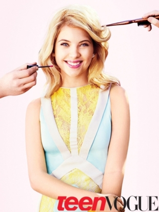 Ashley Benson Covers Teen Vogue April 2012