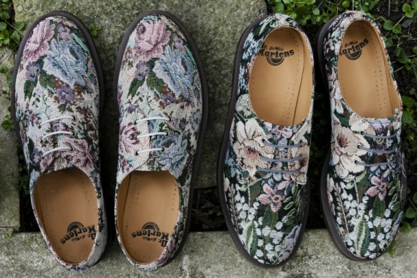 Dr.Martens Needlepoint Unisex Shoes 2012