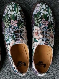 Dr. Martens Needlepoint Unisex Shoes 2012