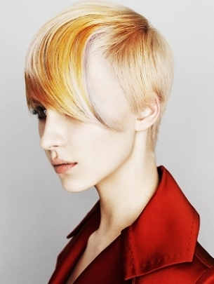 Technicolor Yellow Hair Color