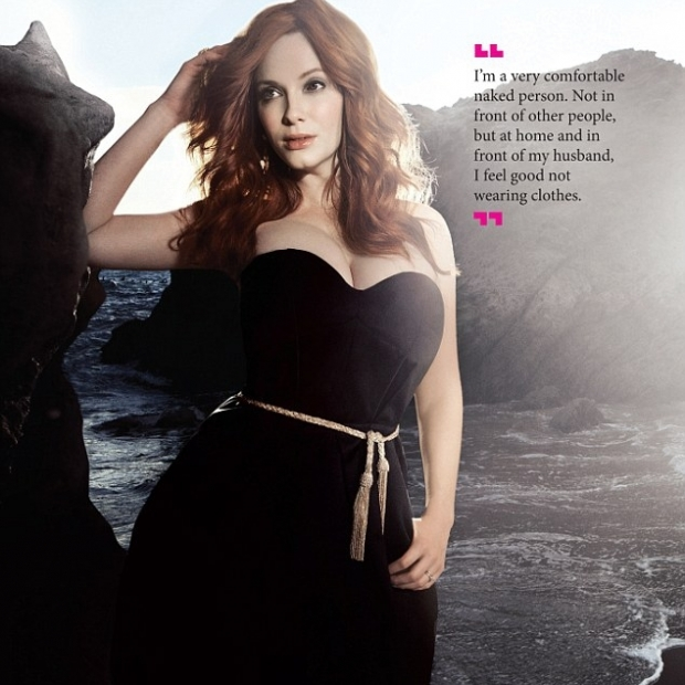 Christina Hendricks Covers BlackBook Spring Fashion Issue