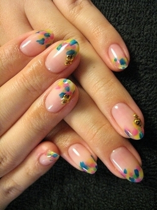 supercute spring nail art ideas