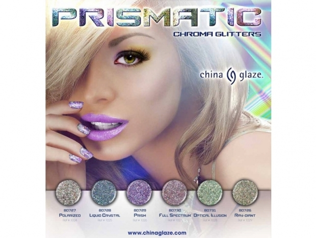 China Glaze Prismatic Chroma Glitters Nail Polish Collection