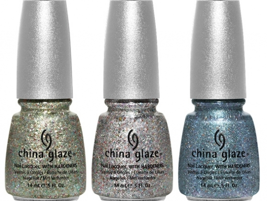 new hairstyle for long hair 2013 on China Glaze Prismatic Chroma Glitters Nail Polish Collection