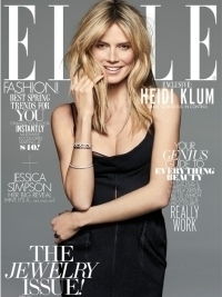 Heidi Klum Talks about Divorce in Elle April 2012