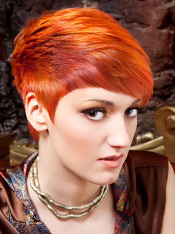 Stand Out Short Haircut Ideas 2012
