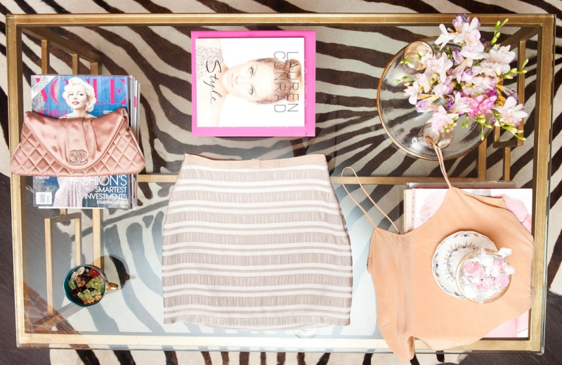 310c32f074dbca Lauren Conrad Gives a Peek into Her Chanel-filled closet for The Coveteur