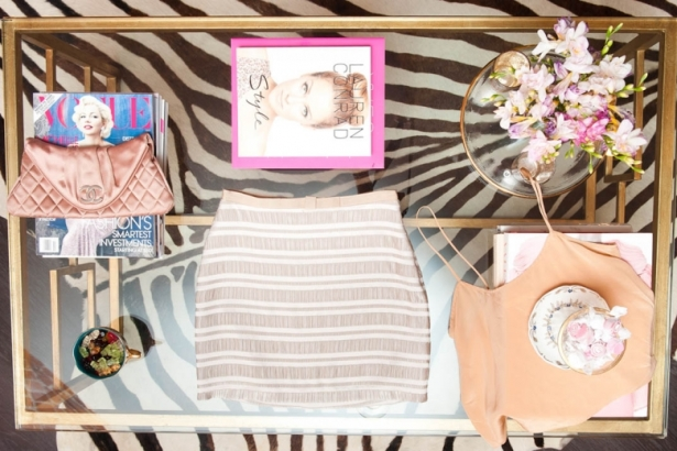 Lauren Conrad Gives a Peek into Her Chanel-filled closet for The Coveteur