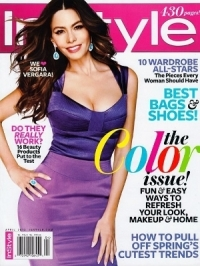 Sofia Vergara Sizzles on the Cover of InStyle April 2012