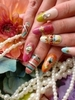 Glitzy Nail Art Designs for Summer 2012