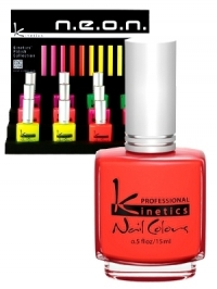 Kinetics Neon Spring 2012 Nail Polishes
