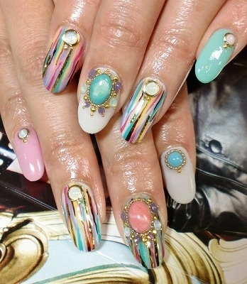 Eye Catching Nail Art Designs Are Achieved Through Heavy Details Stylish Prints Or Contrasting Colors So Depending On The Style You Re Aiming For