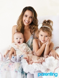 Jessica Alba Talks Motherhood with 'Parenting' Magazine April 2012