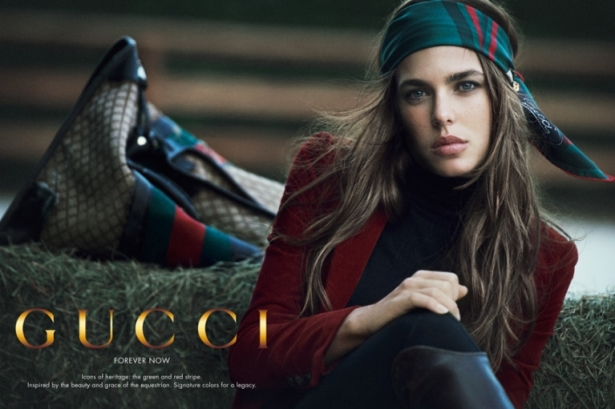 Princess Charlotte Casiraghi of Monaco for Gucci
