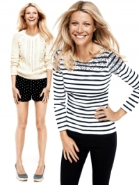 Gwyneth Paltrow for Lindex's 'Modern Preppy' Spring 2012 Campaign