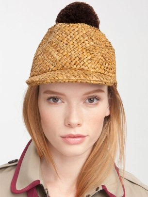 Burberry Peak Hat