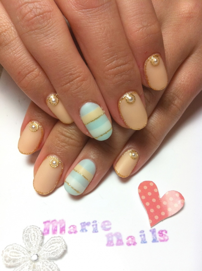 beautiful spring nail art ideas