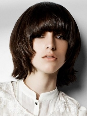 how to cut and style hair medium choppy layered haircuts 7113