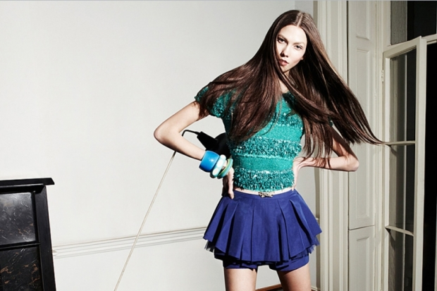 Karlie Kloss for EnC Spring/Summer 2012 Ad Campaign