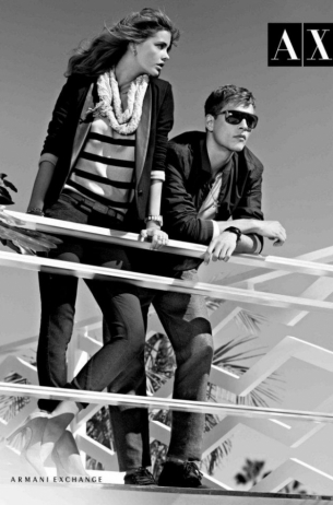 Armani Exchange Spring/Summer 2012 Ad Campaign
