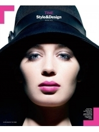 Emily Blunt Stylish in Time Style & Design Spring 2012