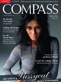 Nicole Scherzinger Covers Compass South Magazine March 2012