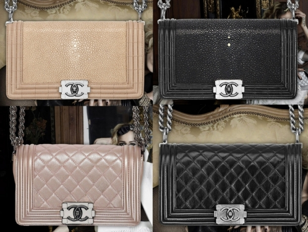 Chanel Boy Bag SpringSummer 2012 Collection