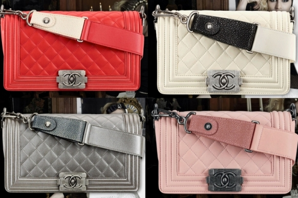 Chanel Boy Bag Spring/Summer 2012 Collection