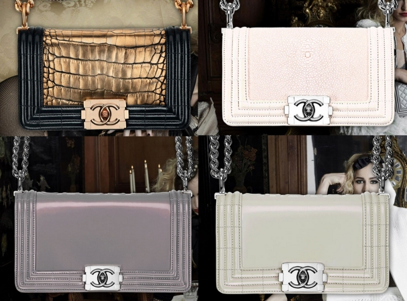Chanel Spring 2012 Bags Boy Bag Spring/summer 2012