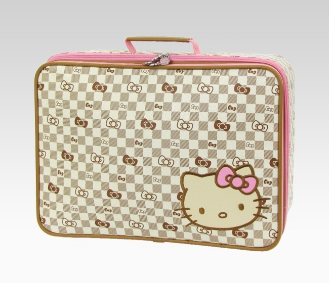 2012 Hello Kitty Checkered Travel Accessories Collection forecast