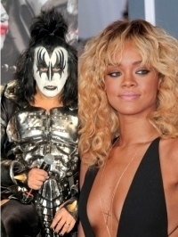 KISS Frontman Gene Simmons Labels Rihanna as 'Fake Karaoke'