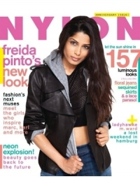 Freida Pinto Covers NYLON April 2012