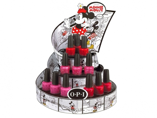 OPI Vintage Minnie Mouse Summer 2012 Nail Collection